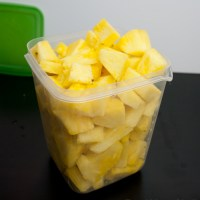 How to Cut and Cube Pineapple with a Knife