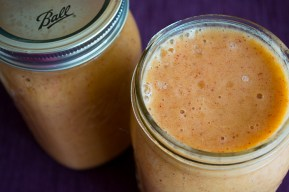 Peach Cobbler Smoothie | Feed Your Skull
