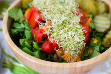 Salad Inspiration and a Recipe for Gratitude Salad Dressing | Fe