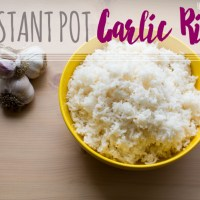 Instant Pot: Garlic Rice