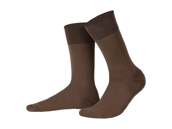 Egyptian cotton socks (cappuccino), Luxury collection
