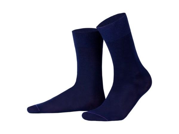 Шкарпетки з єгипетської бавовни (темно-синій), колекція luxury