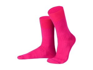 Rapport socks, Egyptian cotton (fuschia), Luxury collection