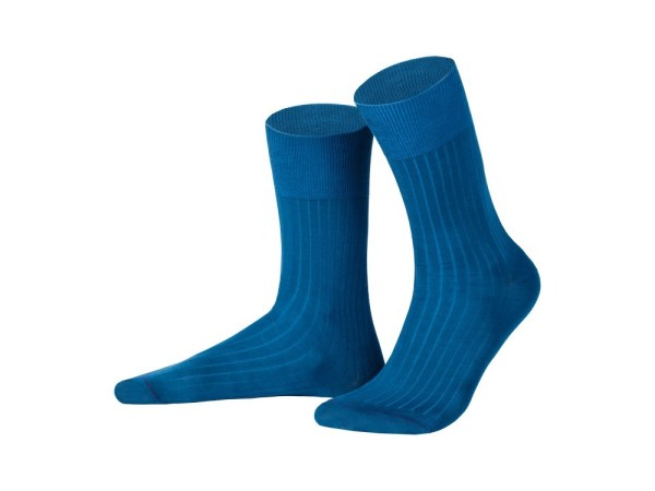 Rapport socks, Egyptian cotton (dark turquoise), Luxury collection