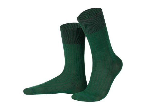 Rapport socks, Egyptian cotton (green), Luxury collection