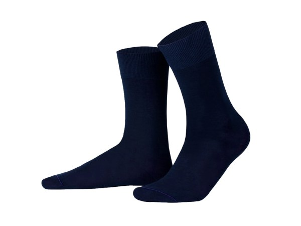 Шкарпетки з єгипетської бавовни (cині), колекція Luxury