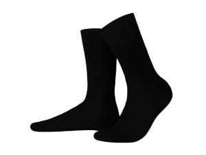 Шкарпетки з єгипетської бавовни (чорні), колекція Luxury