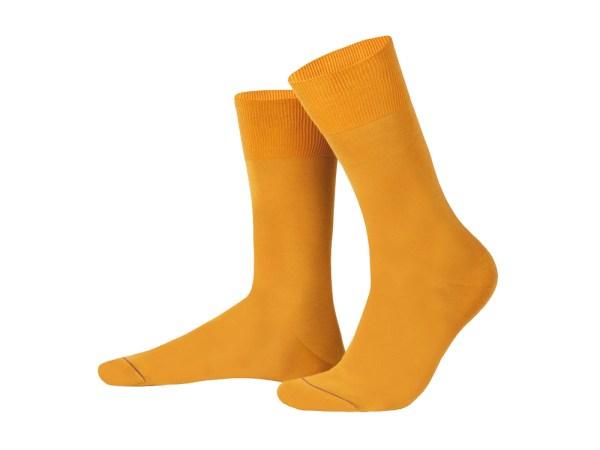 Шкарпетки з єгипетської бавовни (Жовтi), колекція Luxury