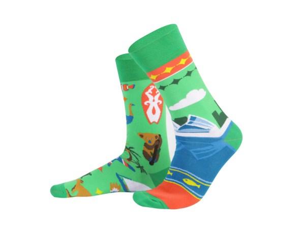 """Шкарпетки """"Австралія"""" колекція Creative Travel"""