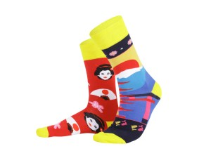 "Socks ""Japan"", Creative Travel collection"