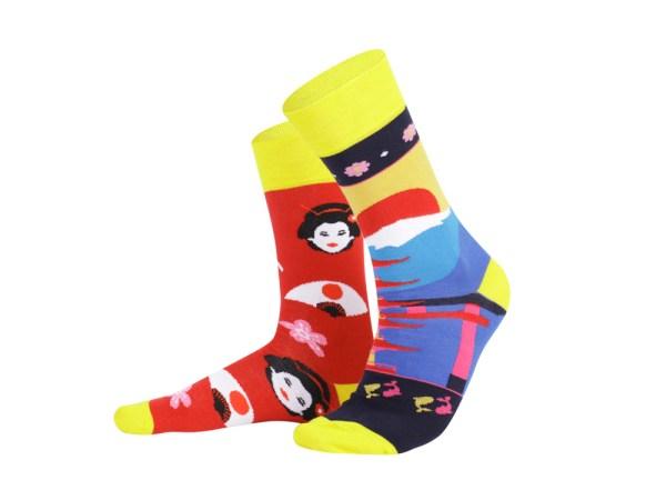 "Socks ""Japan"", Creative Travel collection"