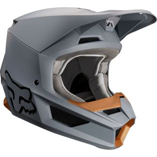 fox v1 adult helmet stone