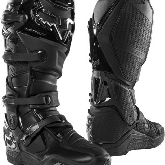Fox Instinct Motocross Boots Black 2020