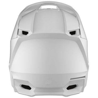 Fox V1 Przm Camo Helmet White Adult Back