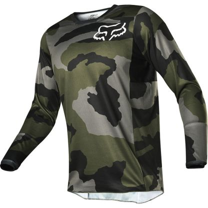 Fox 180 PRZM Camo Jersey Adult Front