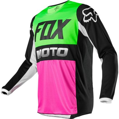Fox 180 FYCE Multi Jersey 2020 Adult front