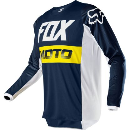 Fox 180 FYCE Jersey Youth Navy Front