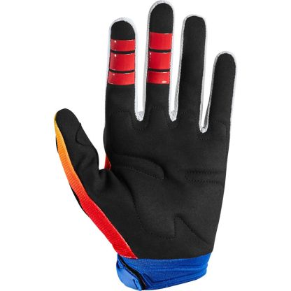 Fox Dirtpaw FYCE Blue/Red Youth Gloves Palm