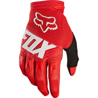 Fox Dirtpaw Race Youth Gloves Red