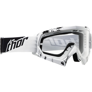 Thor Enemy Motocross Goggle Youth Kids White/Black