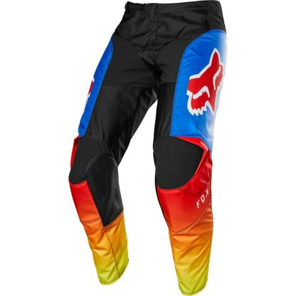 Fox 180 FYCE Blue/Red Youth Pants Front