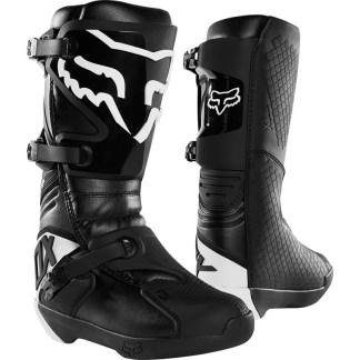 Fox Comp Black Boots Motocross Adult Pair