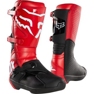 Fox Racing Comp Adult Motocross Boots Red