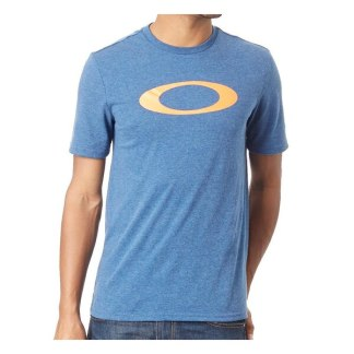 Oakley Casual Lifestyle Tee O-Bold Ellipse Ensign Blue Heather Adult