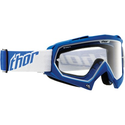Thor Enemy Motocross Goggle Youth Kids Blue