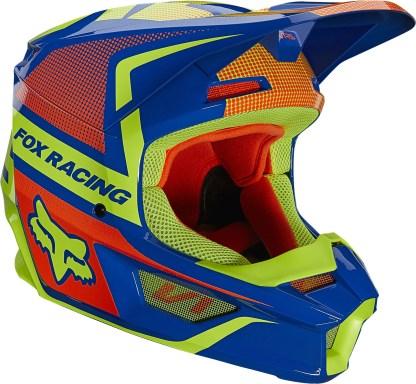 Fox V1 OKTIV Helmet Blue Youth