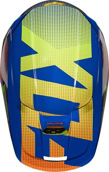 Fox V1 OKTIV Helmet Blue Youth3