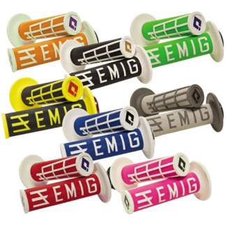 ODI EMIG Racing Lock-on Grip Set