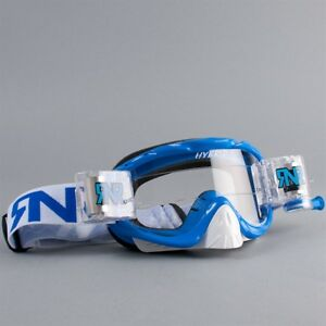 RNR Hybrid Fully Loaded Roll Off Goggles Pacific Blue