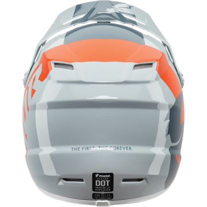 Thor Sector Shear Helmet Slate/Grey Youth Back