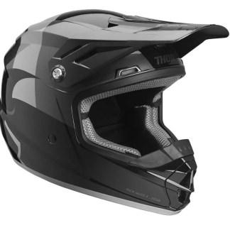 Thor Sector Shear Helmet BLACK CHARCOAL Youth
