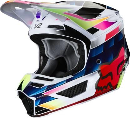 Fox V2 KRESA Helmet Multi Side