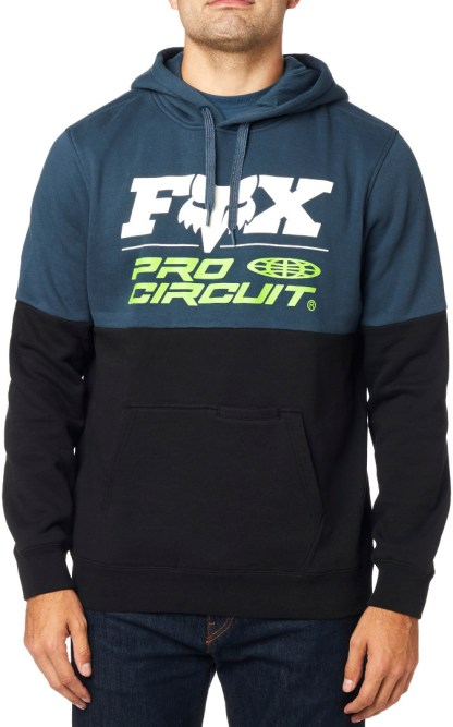 Fox Pro Circuit Pullover Adult Hoodie Navy Model