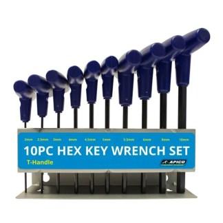 Apico Tool Wrench Kit 10pcs 2-10mm