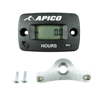 APICO HOUR METER WIRELESS INCLUDING BRACKET