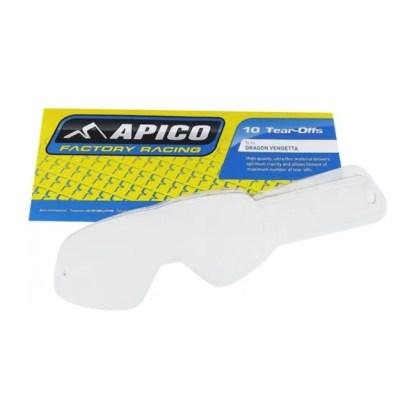 APICO TEAR-OFF OAKLEY AIR BRAKE 10 PACK