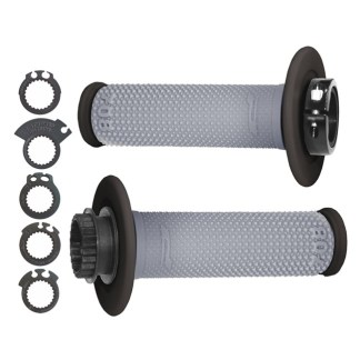 HANDLE BAR LOCK ON GRIPS 708 INCLUDES 6 CAMS GREY BLACK