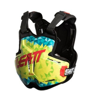 LEATT CHEST PROTECTOR 2.5 ADULT ROX LIME TEAL