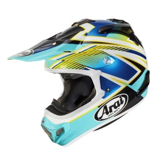 Arai MX-V Day Blue Helmet