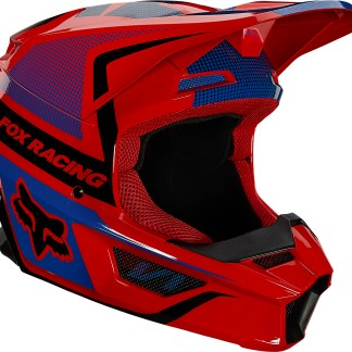Fox V1 OKTIV Helmet Flo Red Youth