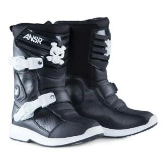 Ansr Pee Wee Kids Boots Black White