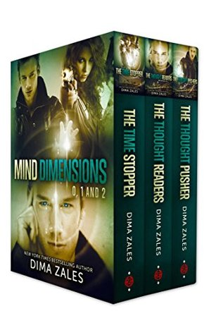 Mind Dimensions Books 0, 1, & 2 Book Cover