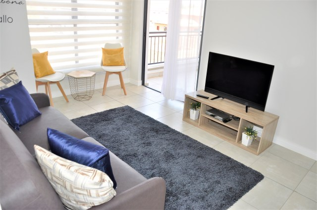 The Blyde 707 is a Fully Furnished 1-Bedroom Apartment To Let in The Blyde Lifestyle Estate Pretoria East by Feel-at-Home Properties