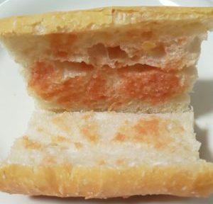 明太フランスパンの中
