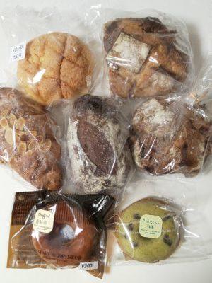 セレクトショップのパン