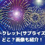 広島のシークレット(サプライズ)花火はどこ?画像も紹介!